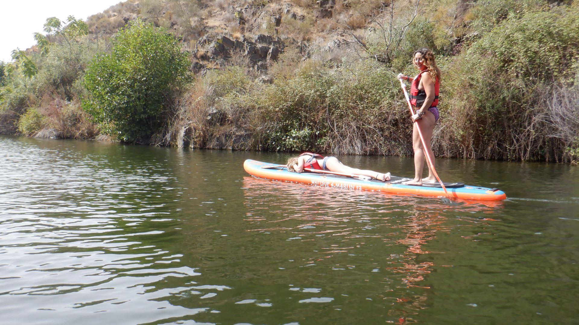 Ruta de Kayak y Paddle Surf + Saltos en Villanueva del Río y Minas